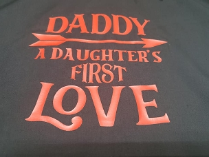 Daddy a daughters first love T-shirt or Hoodie