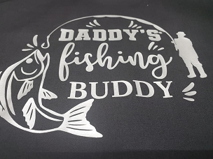 Daddy's fishing buddy  T-shirt or Hoodie