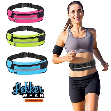 Waterproof Fitness Fanny Pack Elastic Running Belt Sports Waist Bag With Bottle Holder