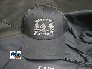Kenney train station hat