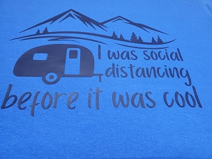 I was social distancing before it was cool  T-shirt or Hoodie