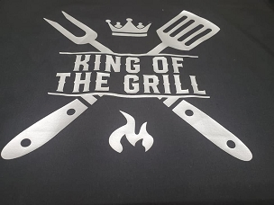 King of the grill T-shirt or Hoodie