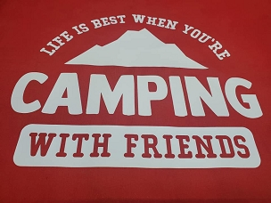 Life is best when you're camping with friends T-shirt or Hoodie
