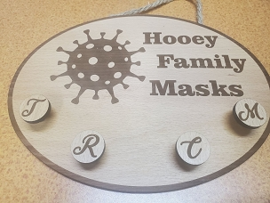 Mask holder option one