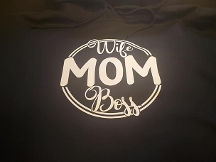 Wife, Mom, Boss   T-shirt or Hoodie