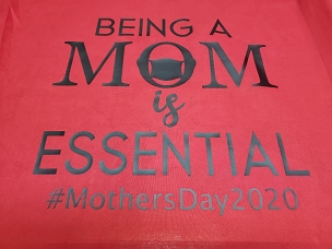 Being a mom is essential T-shirt or Hoodie.