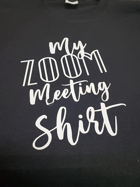 My zoom meeting shirt T-shirt or Hoodie