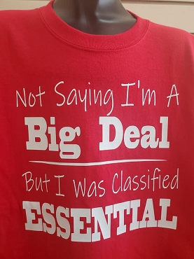 Not saying I'm a big deal T-shirt or Hoodie
