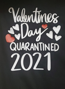 Valentine's Day quarantined 2021