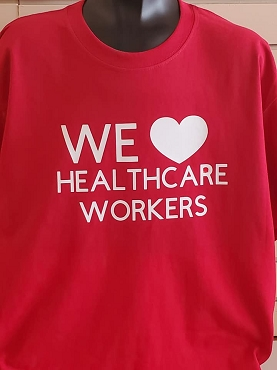We love healthcare workers T-shirt or Hoodie